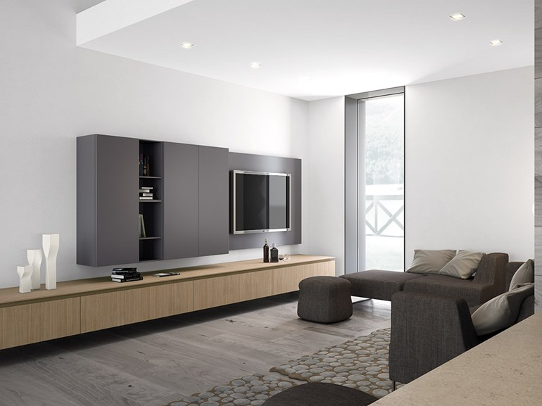 Minimalist kitchen designs - Small tv for kitchen wall ...