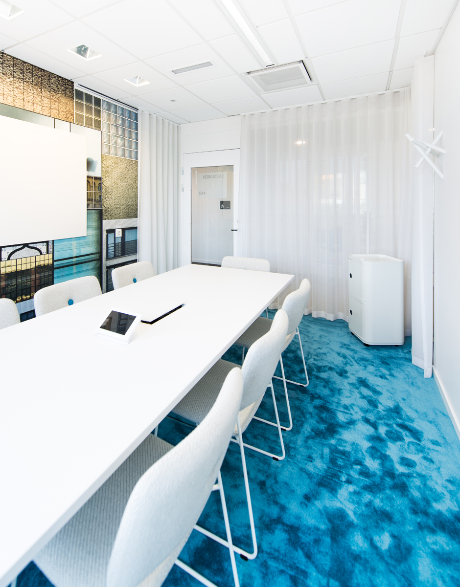 white conference room - Conference Room Design Ideas