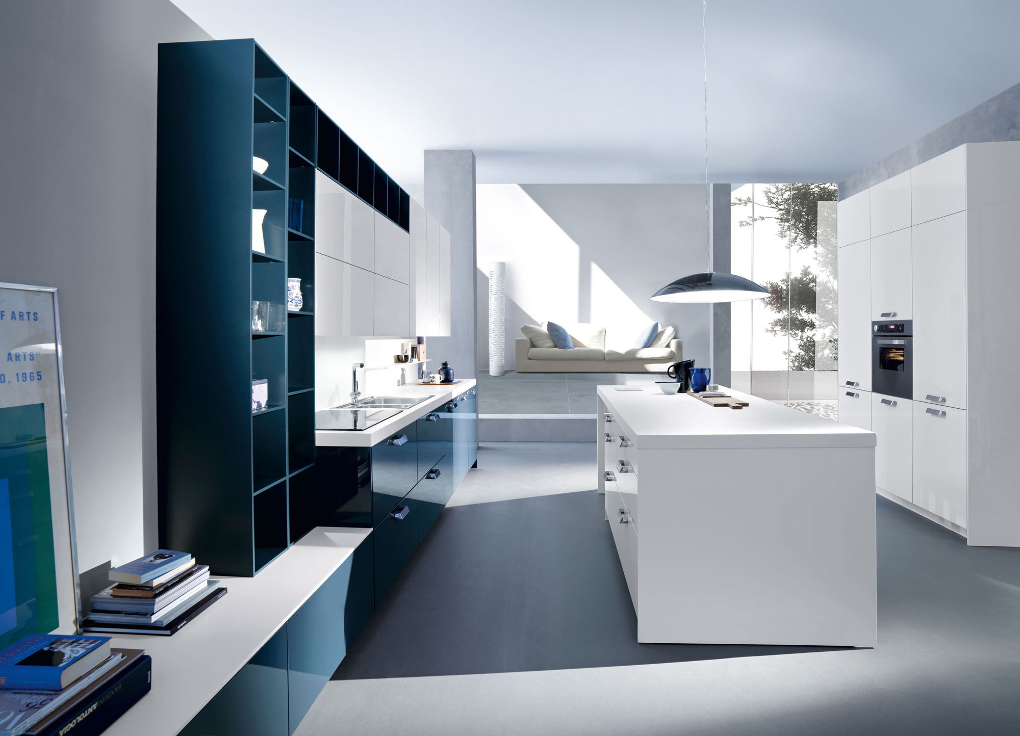 Modern italian kitchens from snaidero for Modern kitchen design lebanon