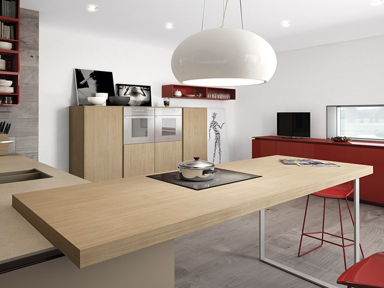 Minimalist kitchen designs for Dynamic kitchen design interiors