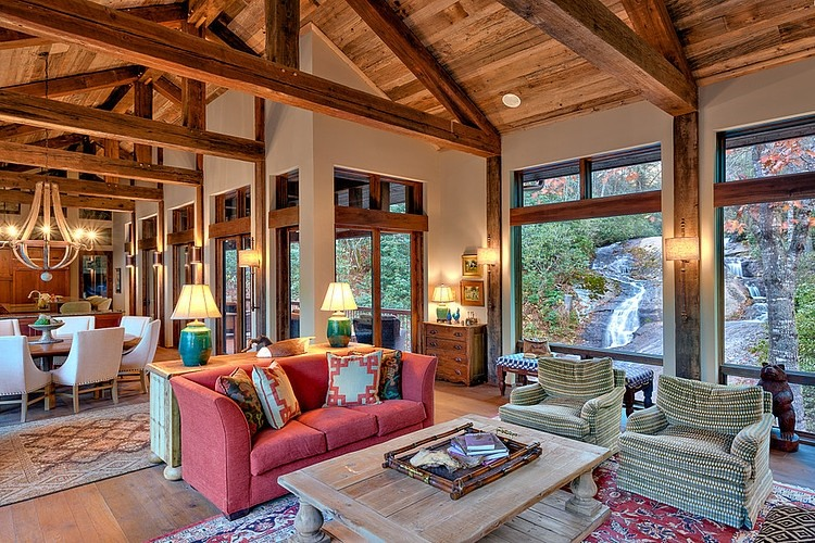 Wood Beam Ceiling Interior Design Ideas