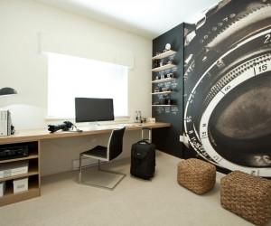 Home Office Interior Design Ideas - Funky home office ideas