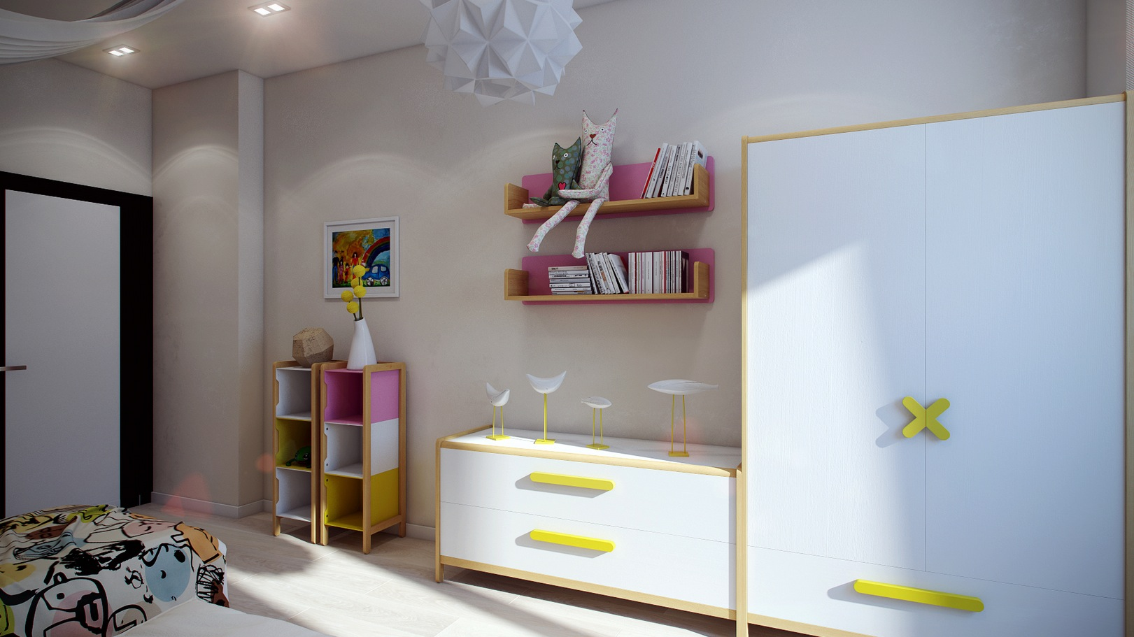 Modern kids furniture interior design ideas for Modern kids furniture