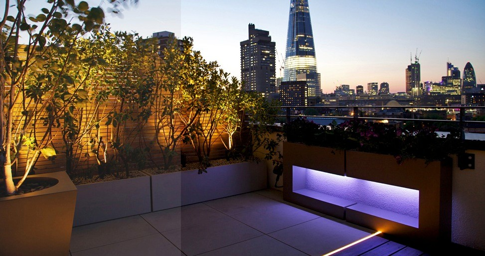 Roof gardens for Garden on rooftop designs