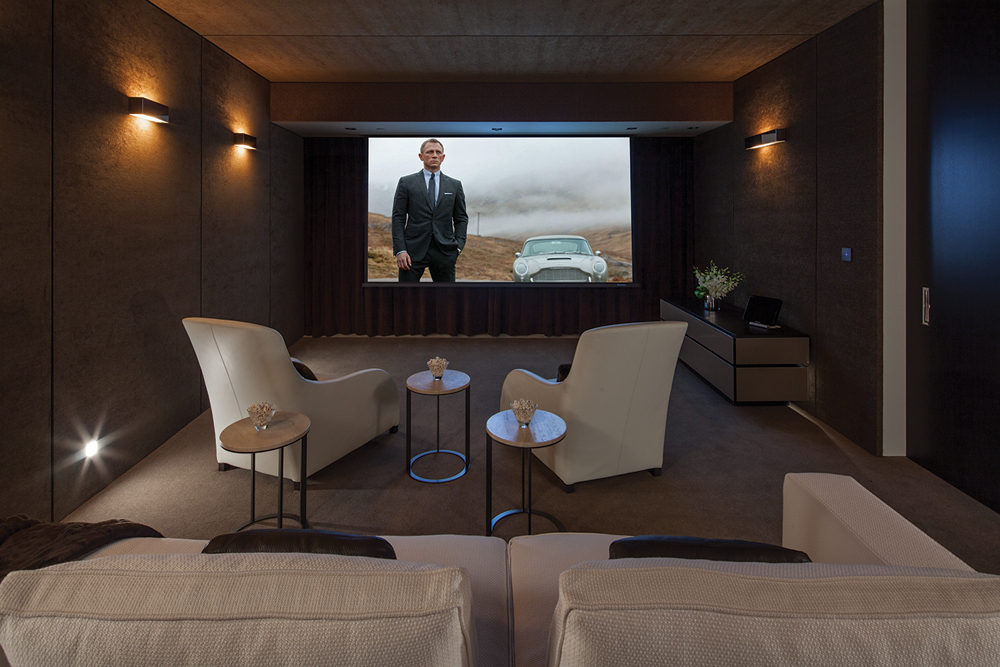 Cinema Room Interior Design Ideas