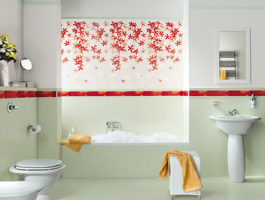 Top to Toe Lavish Bathrooms -> Banheiro Decorado De Rosa