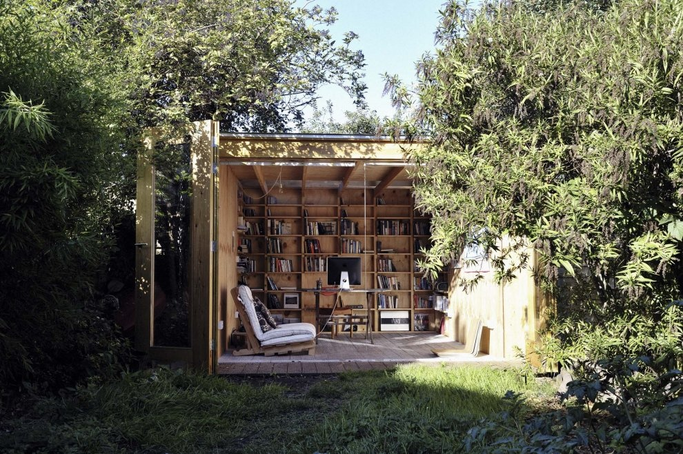 Outdoor home office designs