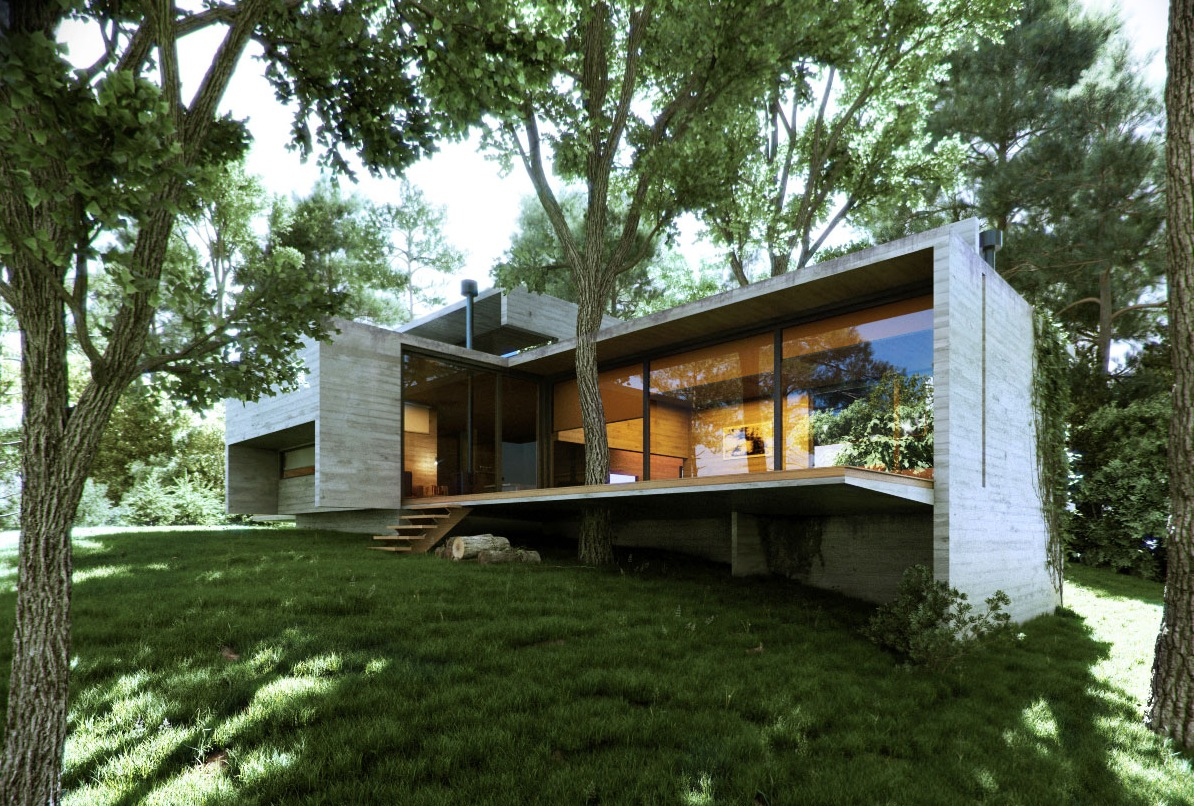 Modern Dwelling - Excellent exteriors