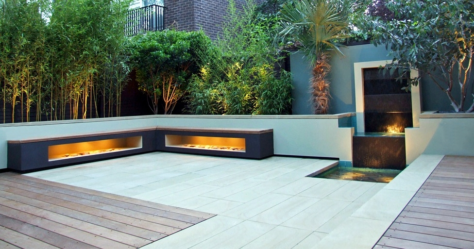Roof gardens for Terrace seating ideas
