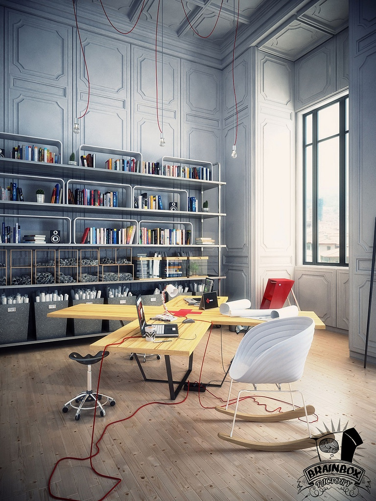 Beautiful home offices workspaces Creative interior ideas