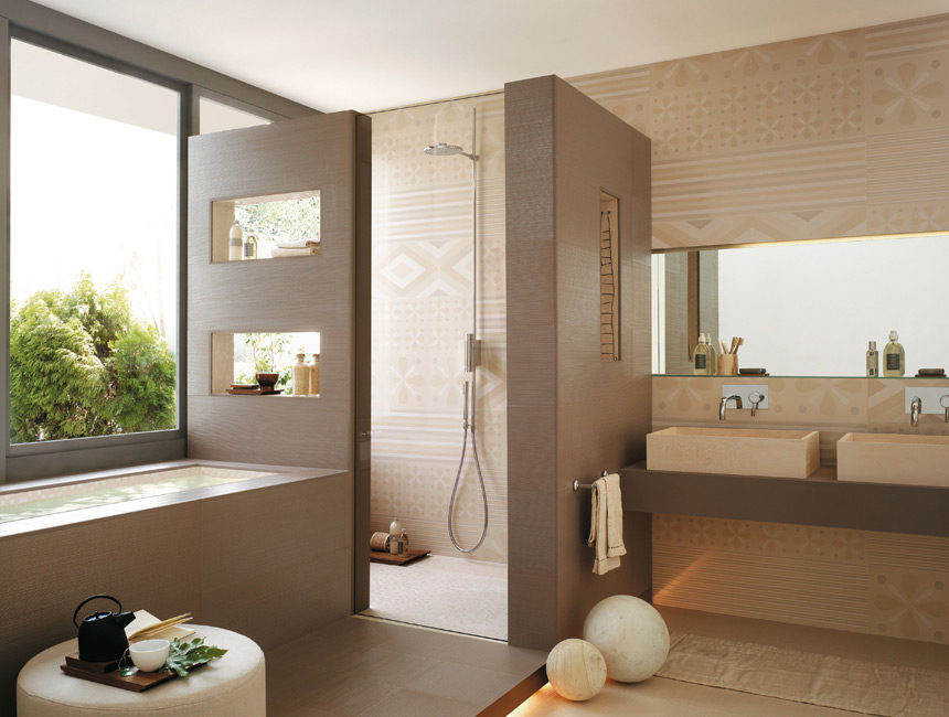 Neutral bathroom interior design ideas for Neutral bathroom ideas
