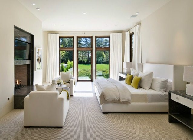 White Bedroom - Microsoft co founder and billionaire paul allen s new 27m home