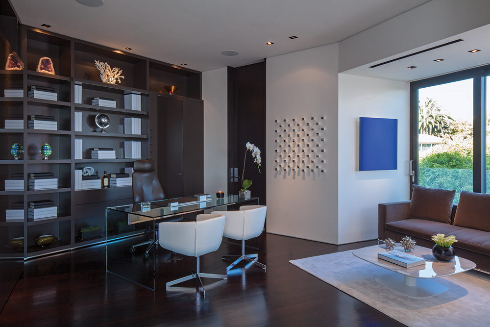 Home Office - A spectacular beverly hills house