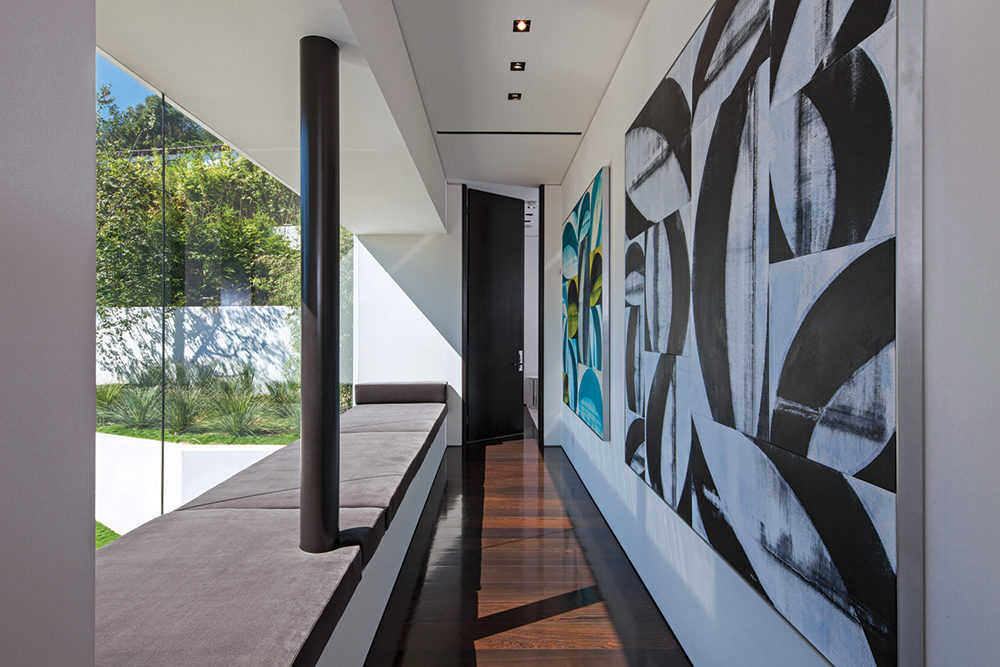 Large Canvas Artwork - A spectacular beverly hills house
