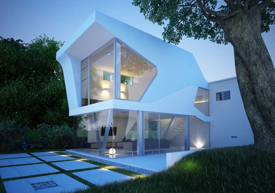 Glass Walled Home - Excellent exteriors