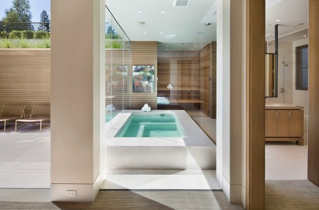 Jacuzzi interior design ideas - Jacuzzi para interior ...
