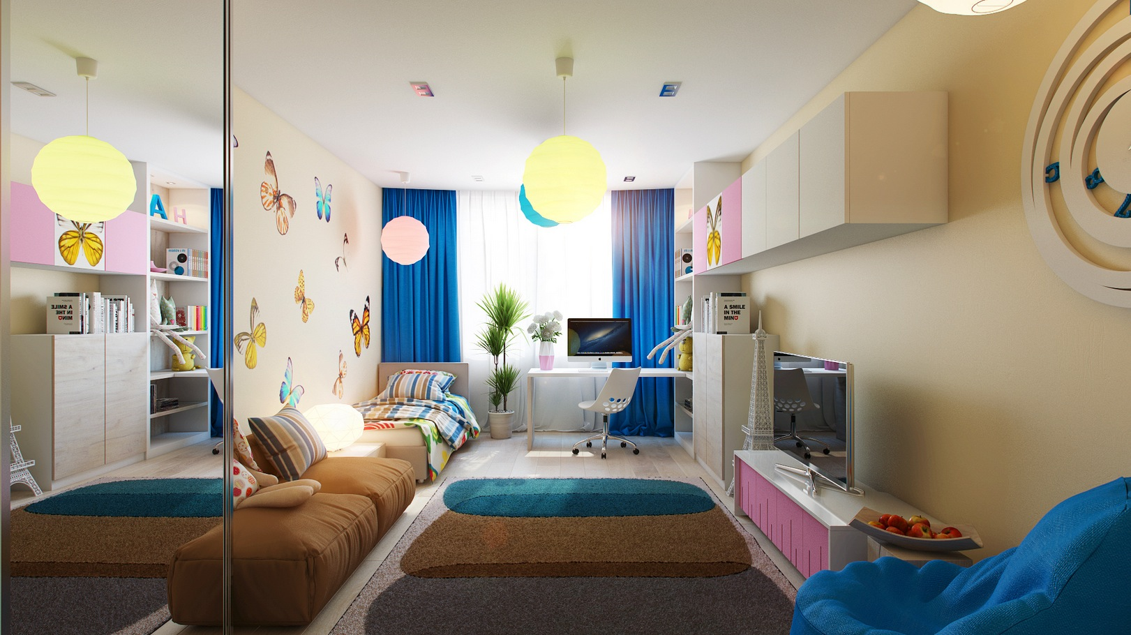 Casting color over kids rooms for Dormitorio hombre