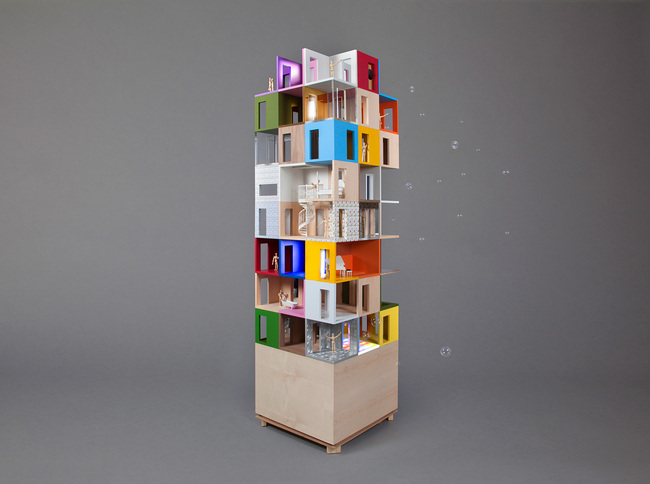 Dollhouse Tower - Dollhouses designed by star architects