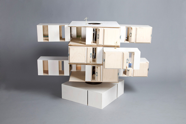 Horizontal Dollhouse - Dollhouses designed by star architects