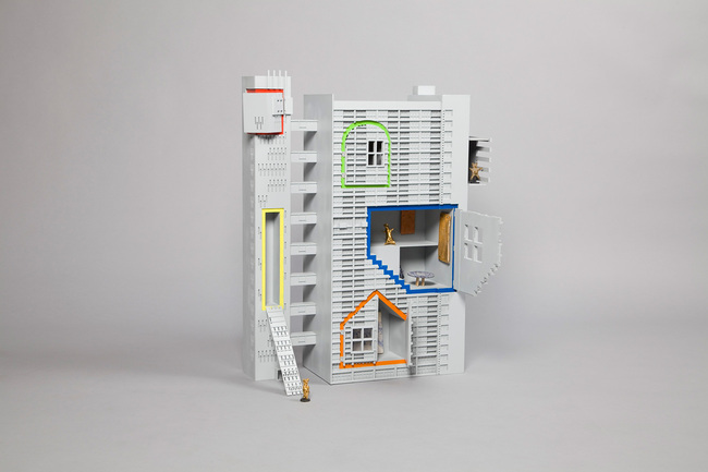 Inside Out Dollhouse Coffeey Architects - Dollhouses designed by star architects
