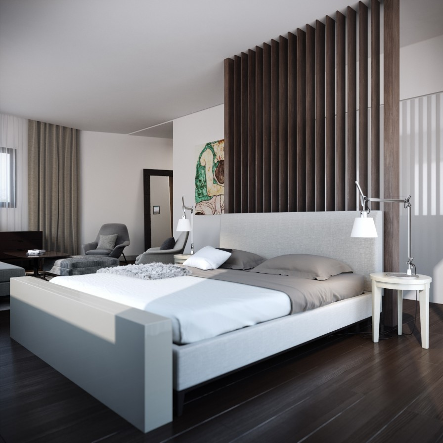 Ultra Modern Bedroom Interior Design Bedroom Colour Ideas 2014 Latest Bedroom Interior Design Trends Good Bedroom Colour Schemes: Minimalist Modern Bed On Inspirationde