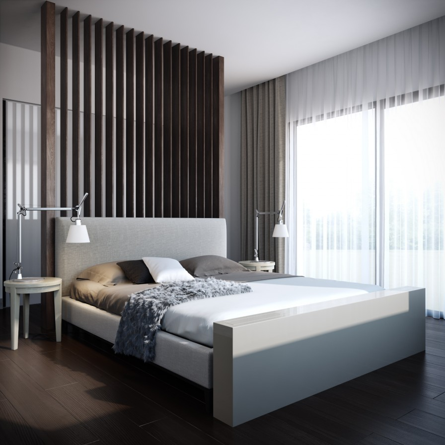simple modern bedroom