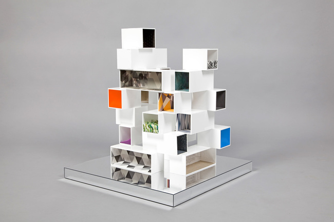 Dollhouses designed by star architects for Interior design in a box