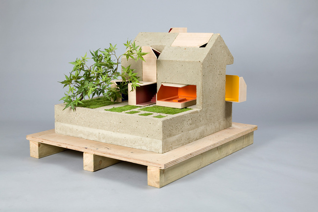 Sustainable Concrete Dollhouse - Dollhouses designed by star architects