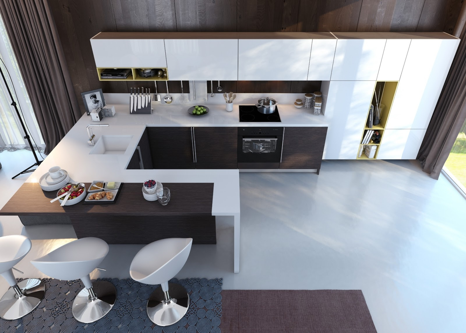 Kitchens with Contrast #786444 1600 1143