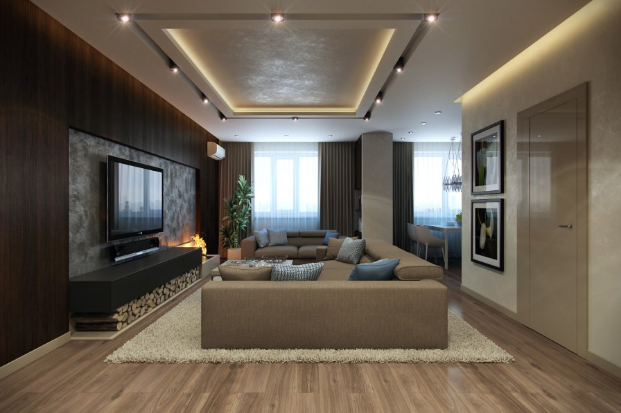 Modern lounge  Interior Design Ideas.