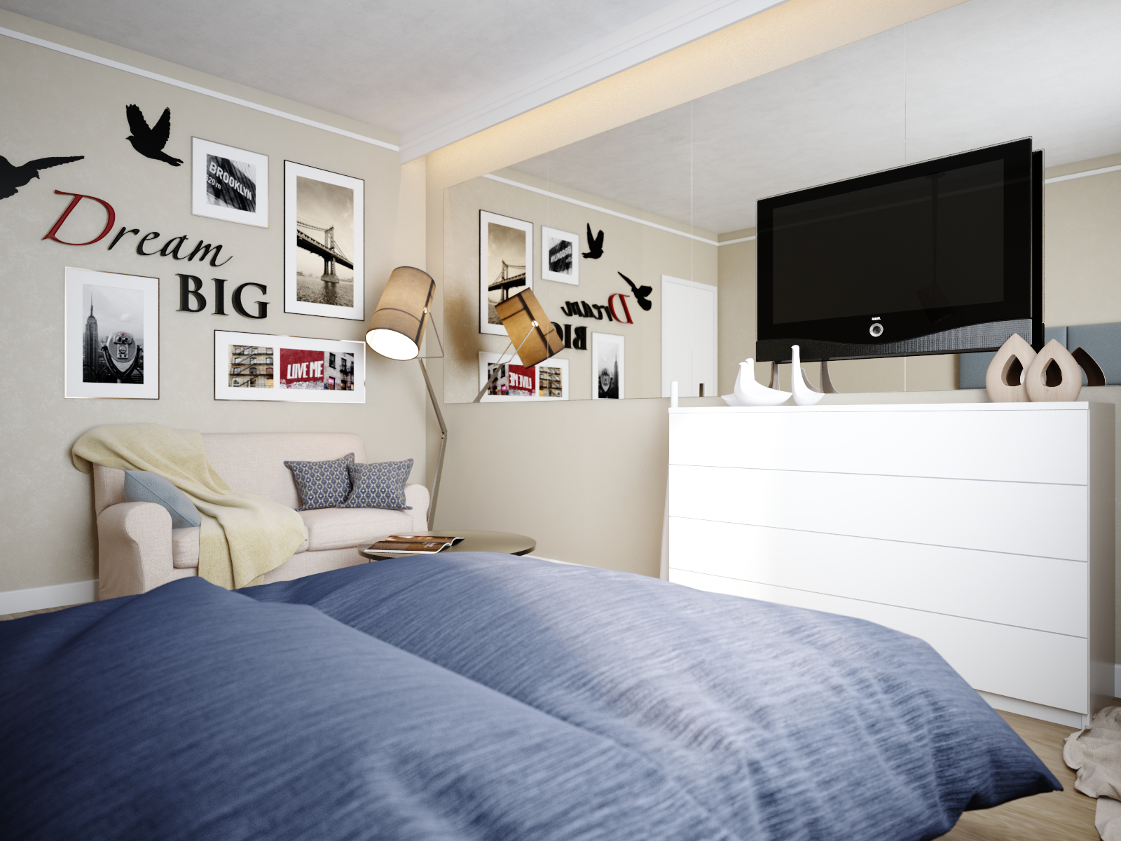 A Small Apartment With Big Dreams - A small apartment with big dreams