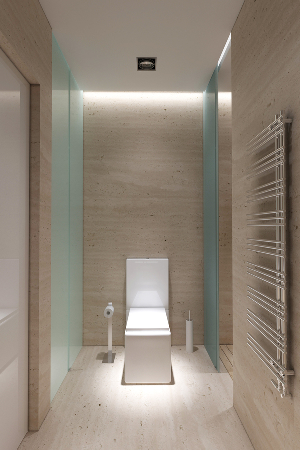 Square toilet interior design ideas Toilet room design ideas