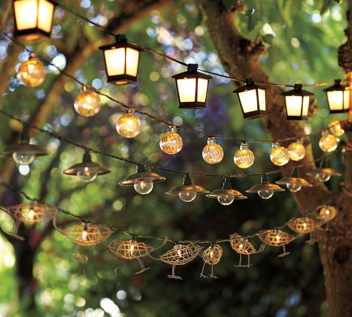 Winter String Lights - Outdoor christmas decoration