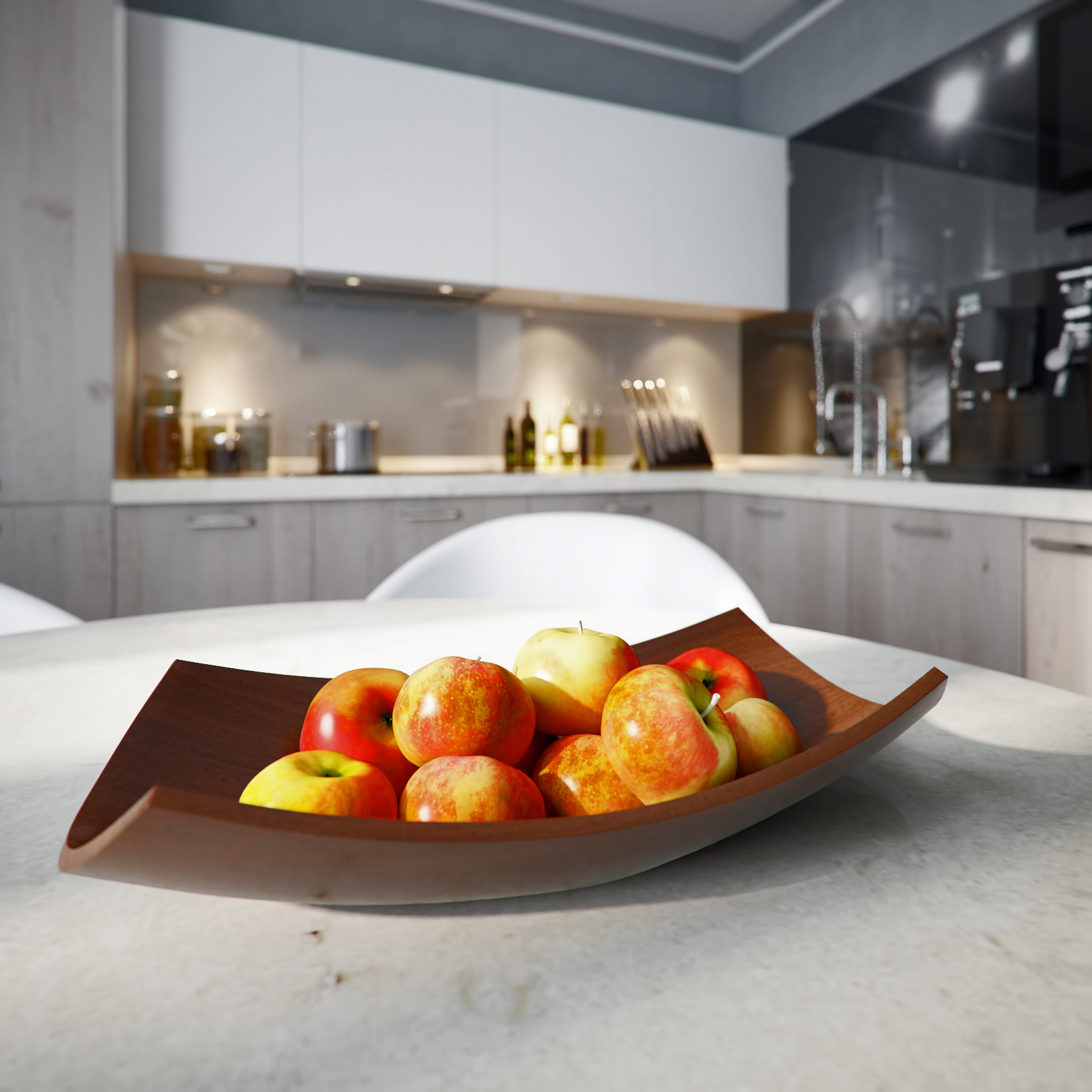 22 fruit modern bowl