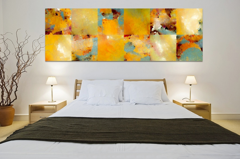 Home decorating with modern art for Room decor modern
