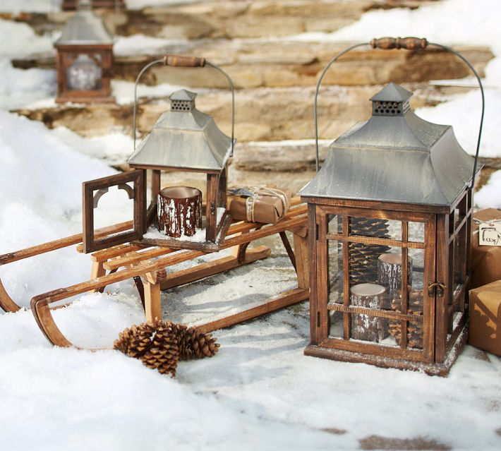 Winter Lanterns - Outdoor christmas decoration