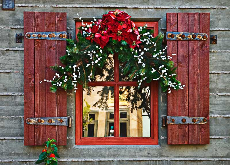 Christmas Window - Outdoor christmas decoration