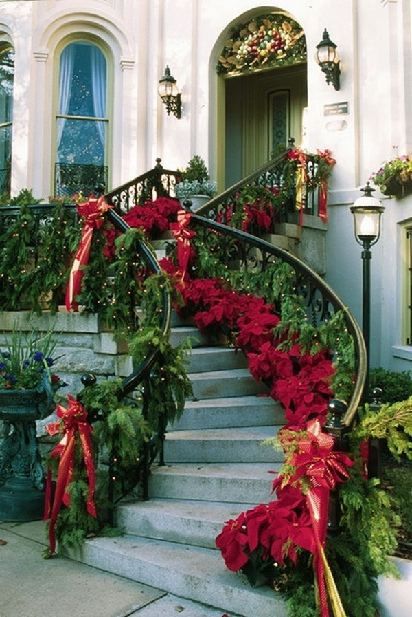 Outdoor christmas decoration - Christmas decorating exterior house ...