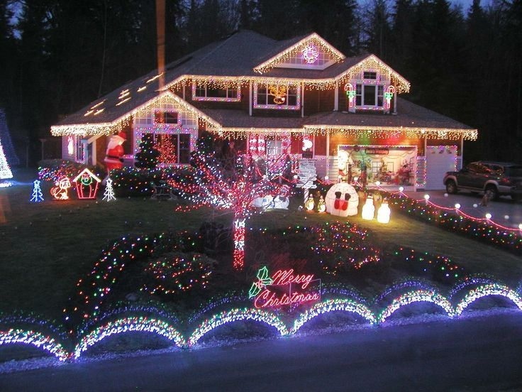 Christmas Home Illuminations - Outdoor christmas decoration