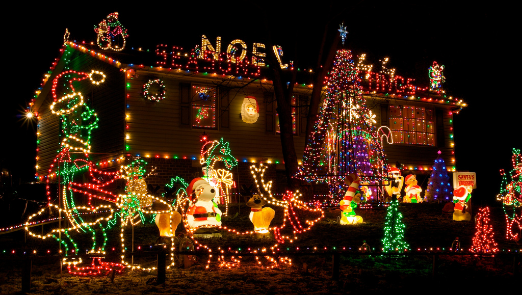 Christmas Lights - Outdoor christmas decoration