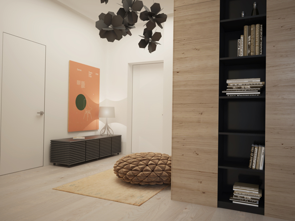 Sophisticated Room Designs With Stripped Back Style