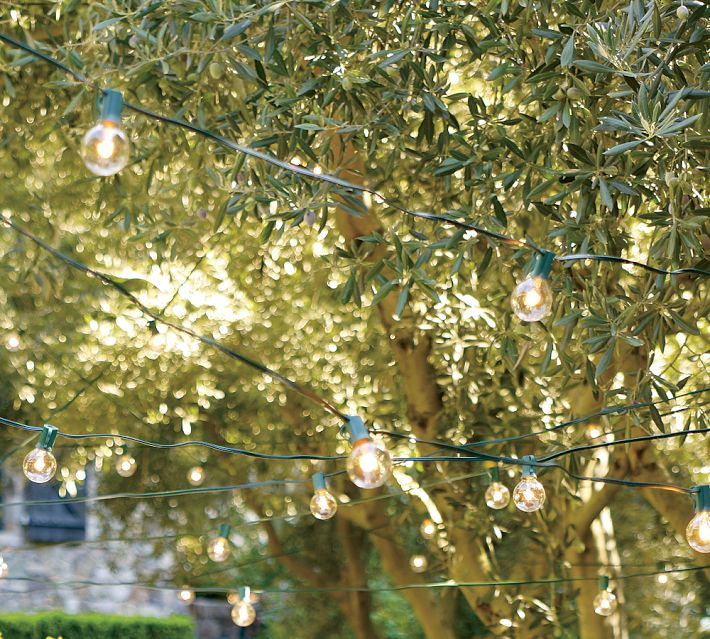 String Lights - Outdoor christmas decoration