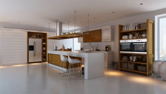 Kitchens with Contrast