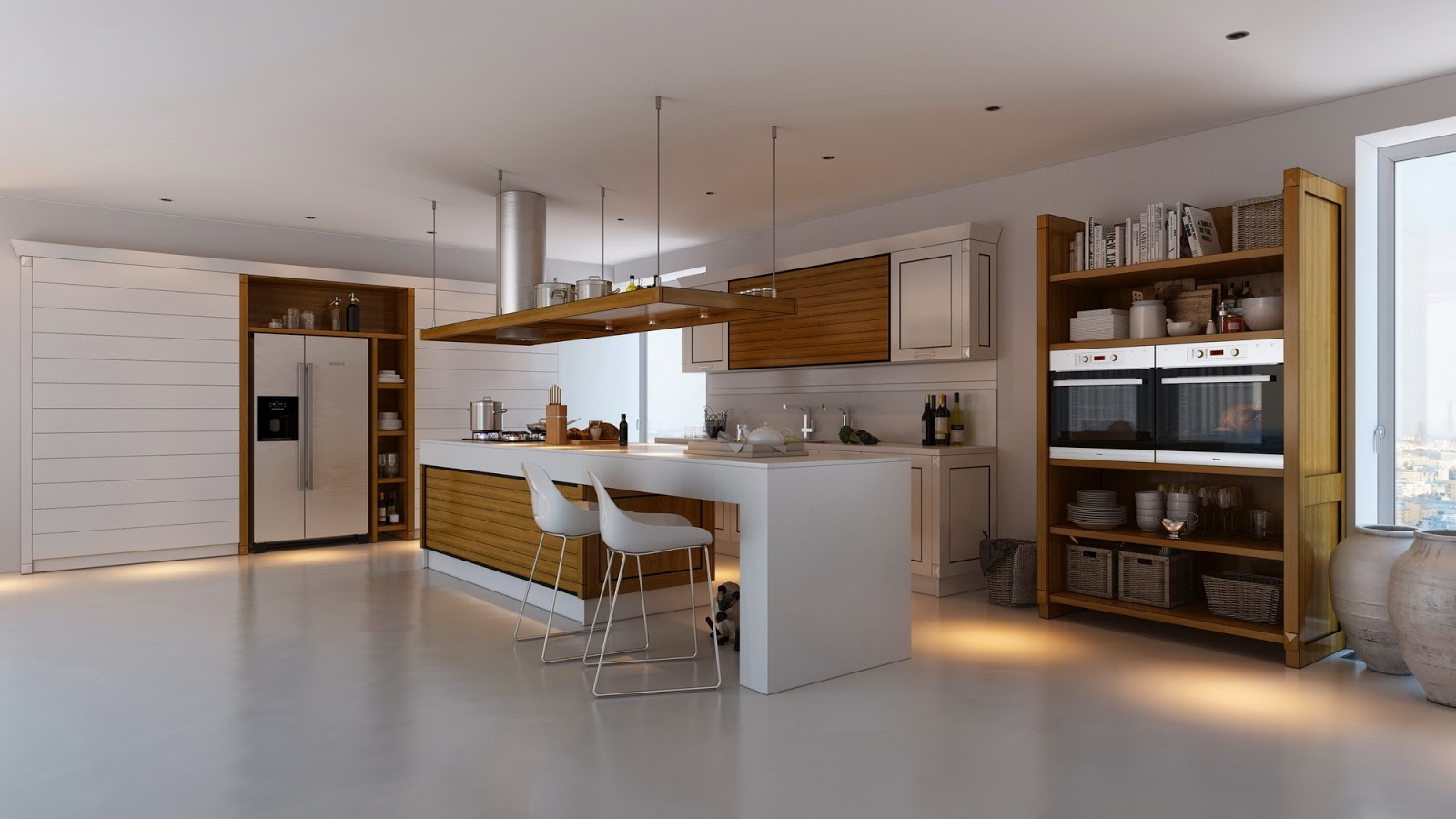 Uncategorized Free Standing Kitchen Designs kitchens with contrast
