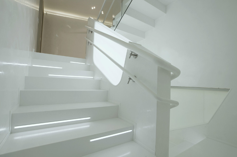 Stair lights interior design ideas for Interior stair lighting