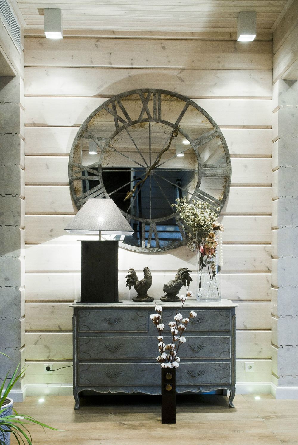 Clock Mirror Interior Design Ideas