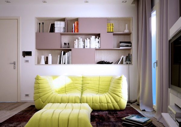 Small apartments for Sofa interiors studio city