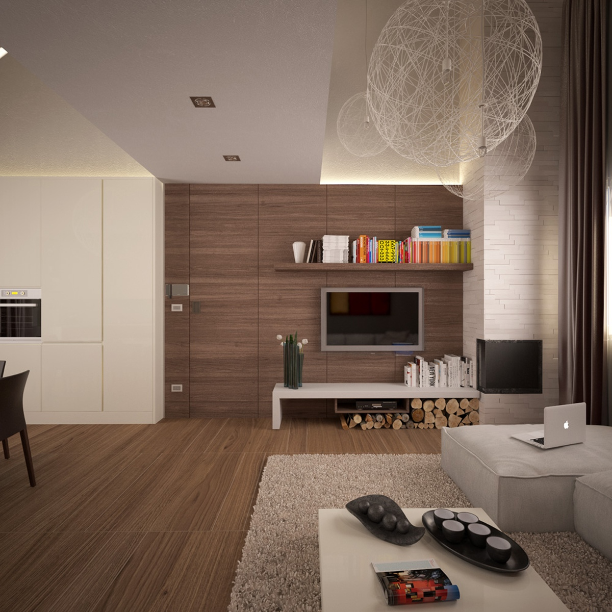 Small apartments for Modern living room apartment