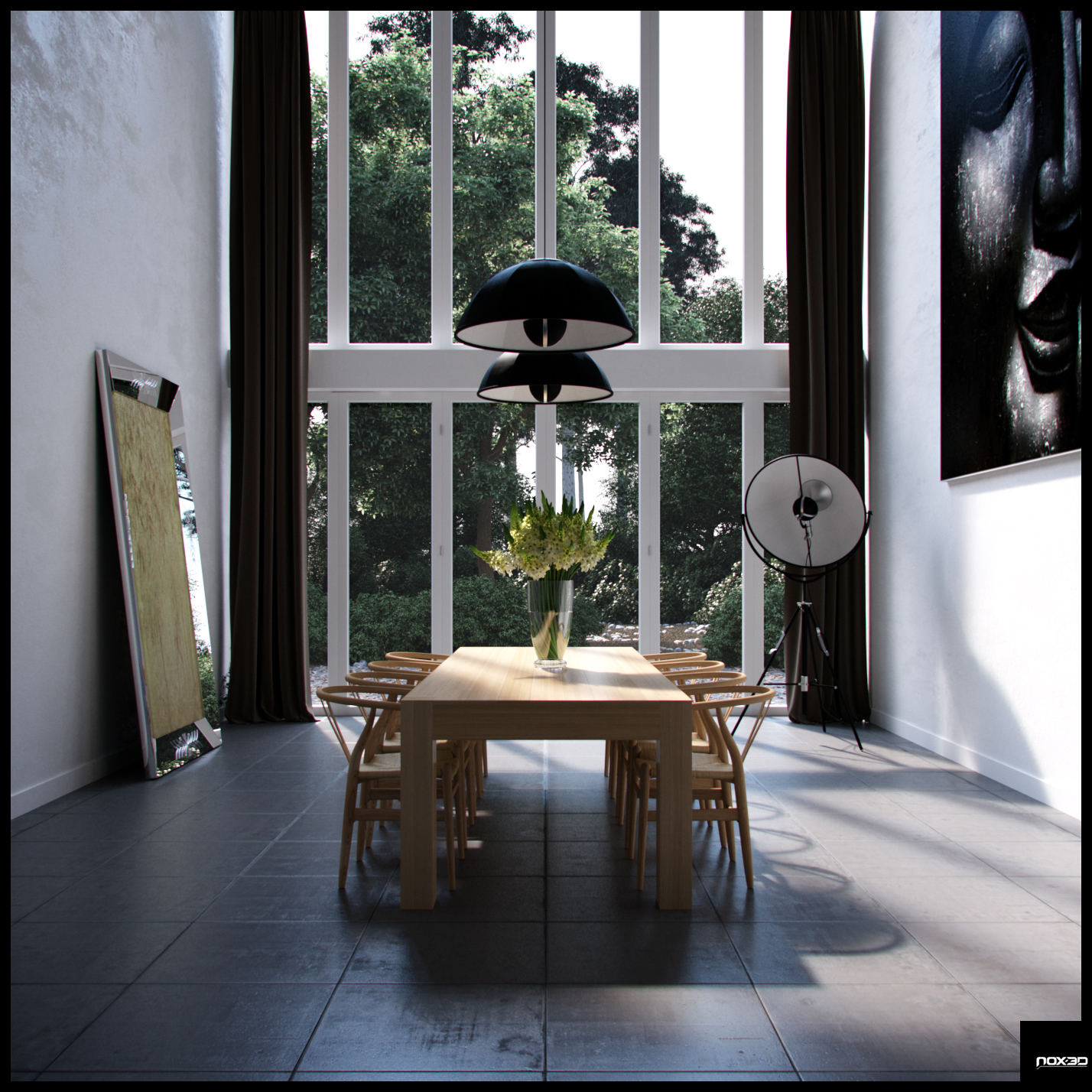Formal dining room decor for Dining room 3d wall art
