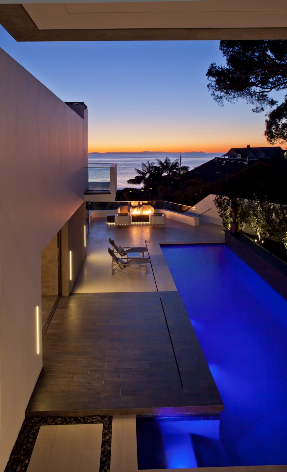 Private Pool - Oceanfront house with pool california